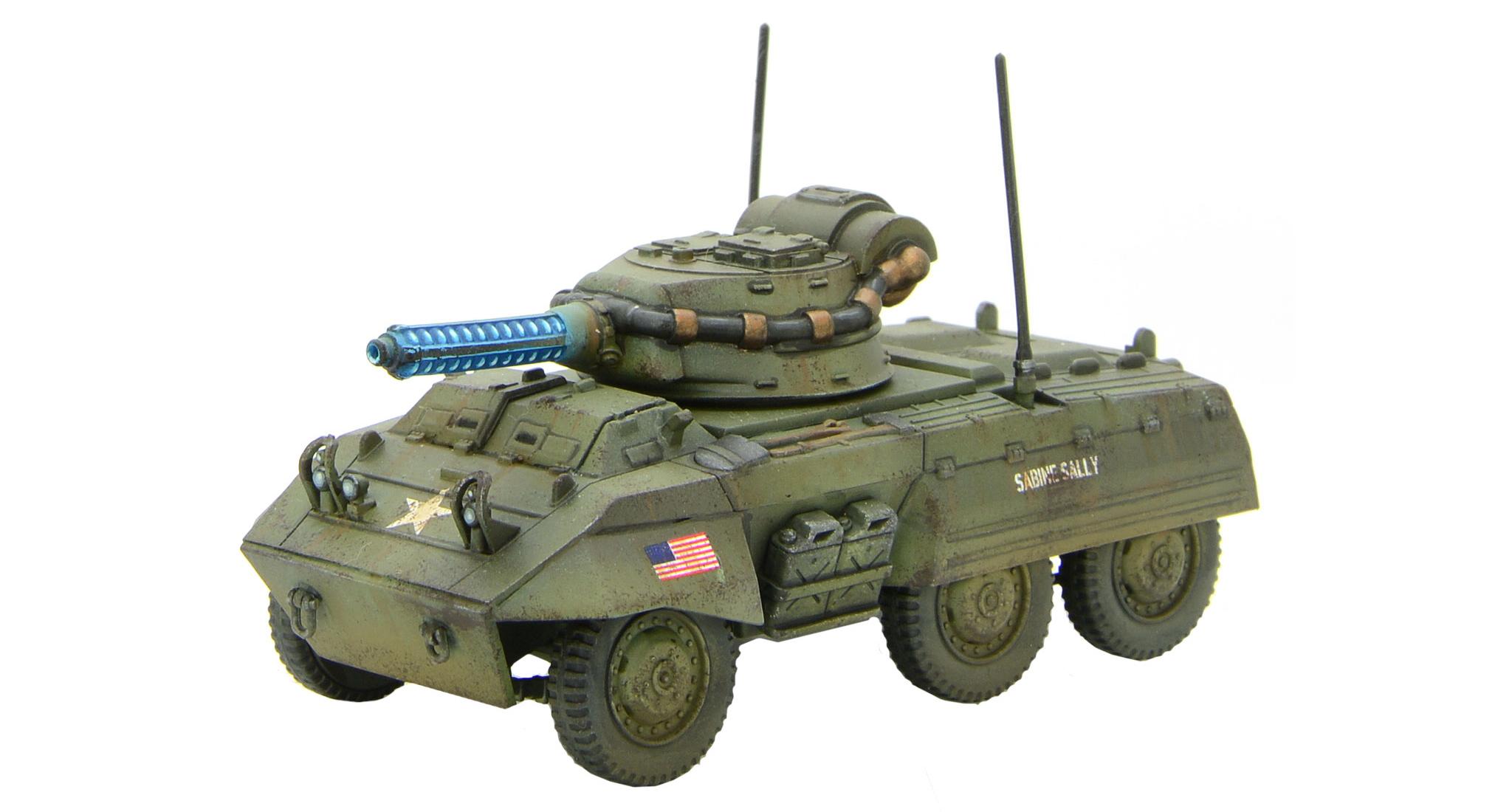 New Konflikt '47 US M8A3 Tesla Scout