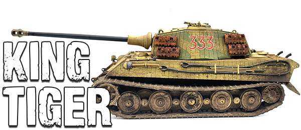 King Tiger - Painting the tank! - by Mitchell Basran