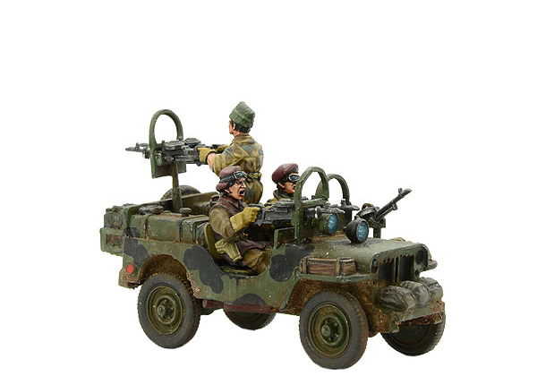 New Bolt Action British SAS Armoured Jeep