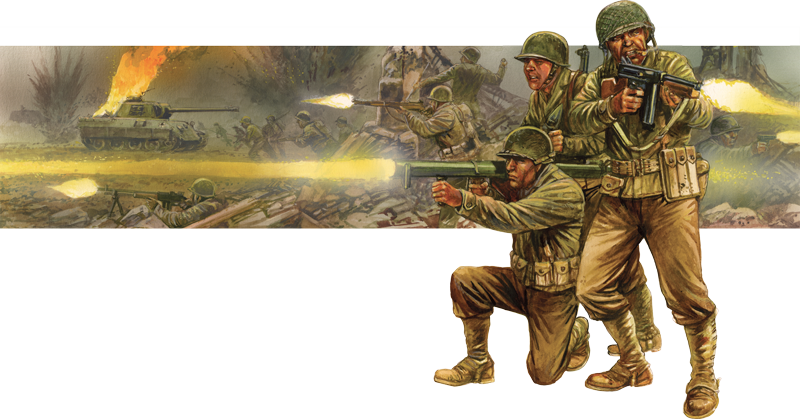 Bolt Action US Army Collection Banner