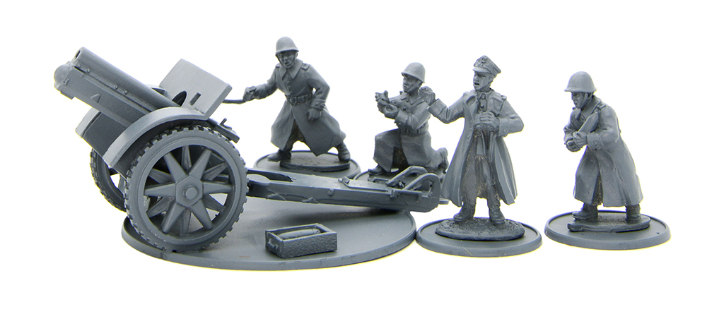 New Bolt Action Polish 100mm Medium Artillery
