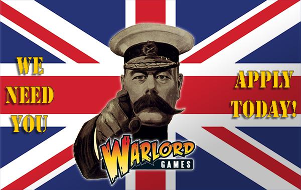 Warlord Vacancies