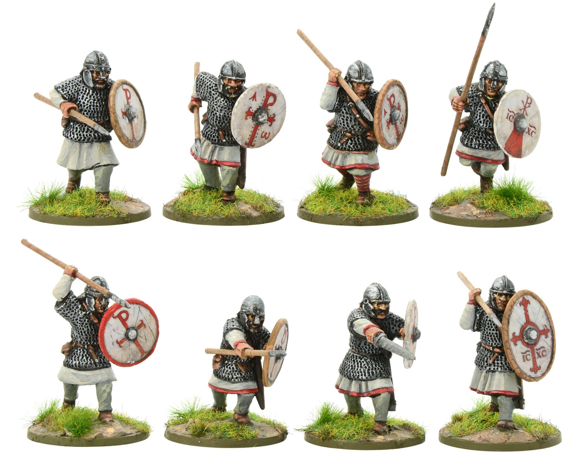New Hail Caesar Arthurian Romano British Armoured Infantry