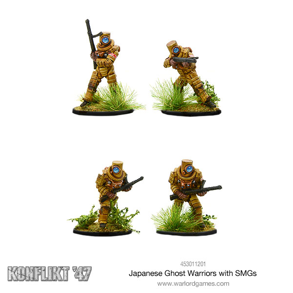 Japanese Ghost Warriors