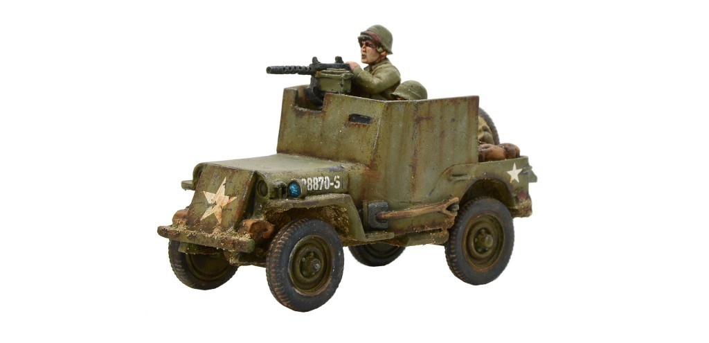 Revised US Armoured Jeep