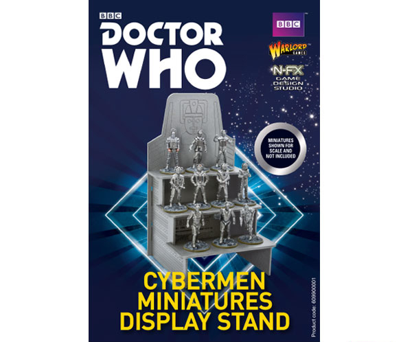 Doctor Who Cybermen Displey Stand