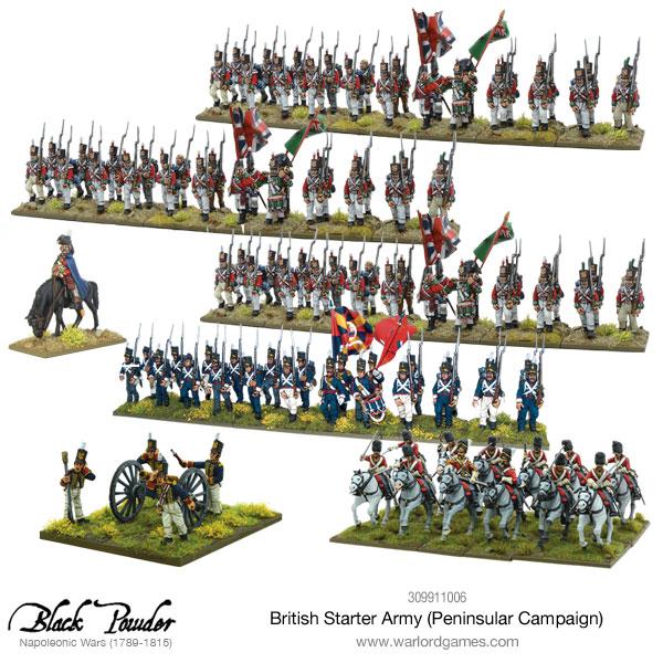 British Peninsular Starter Army