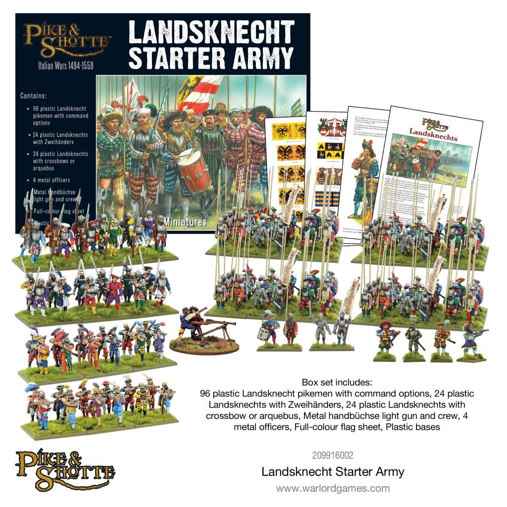 Pre-order The Landsknechts Friday...