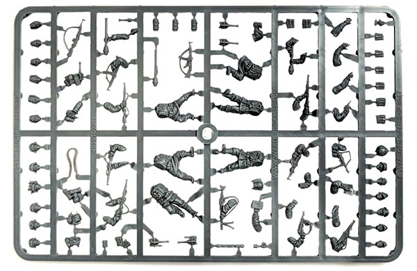 New Bolt Action Waffen-SS Plastics Frame