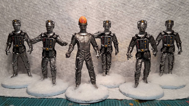 Doctor Who Community Painting Showcase Article