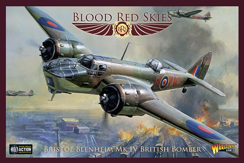 Pre-Order Blood Red Skies British Bristol Blenheim MK IV British Bomber