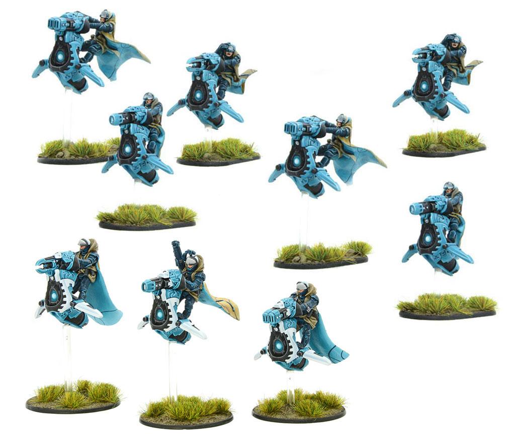 New Gates of Antares Freeborn Sky Raider Force Bundle