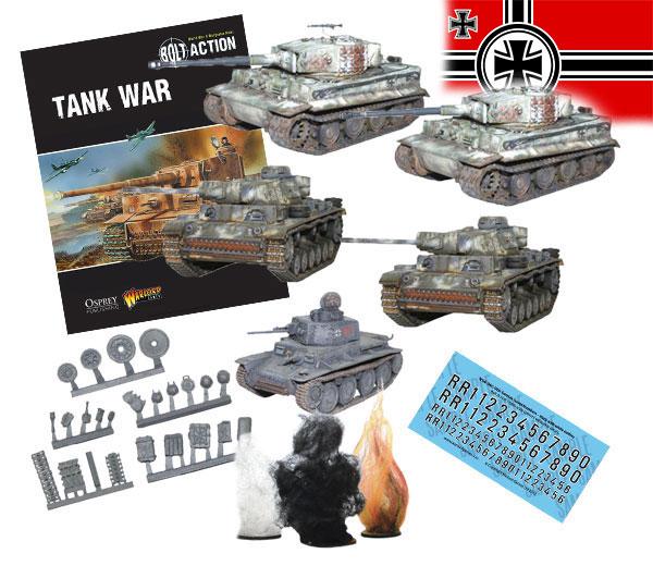 Bundle of Bolt Action German Tanks