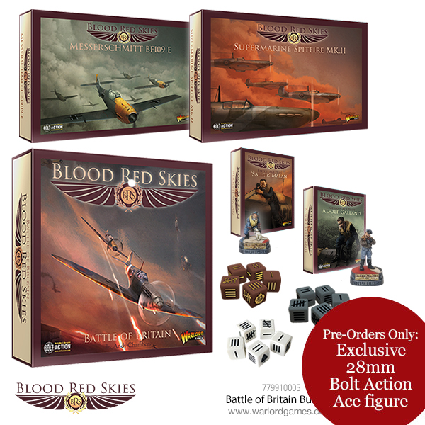 Pre-Order Blood Red Skies Battle of Britain