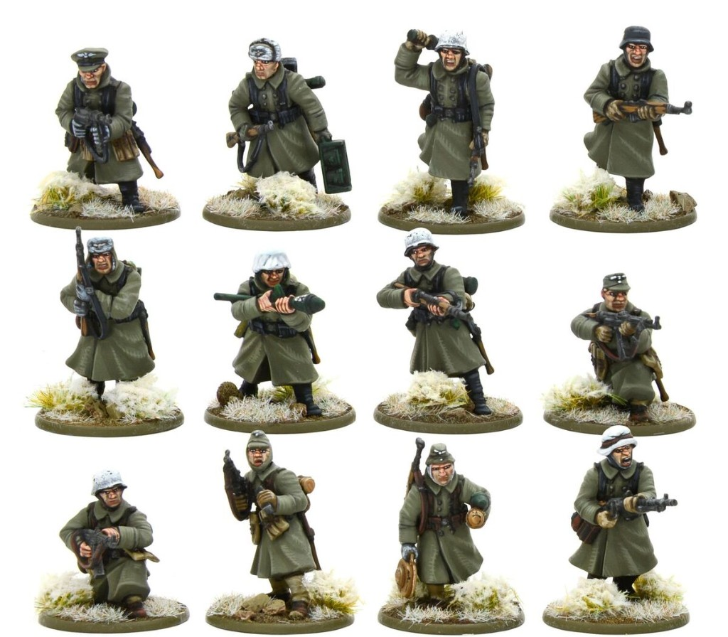 Winter German Infantry