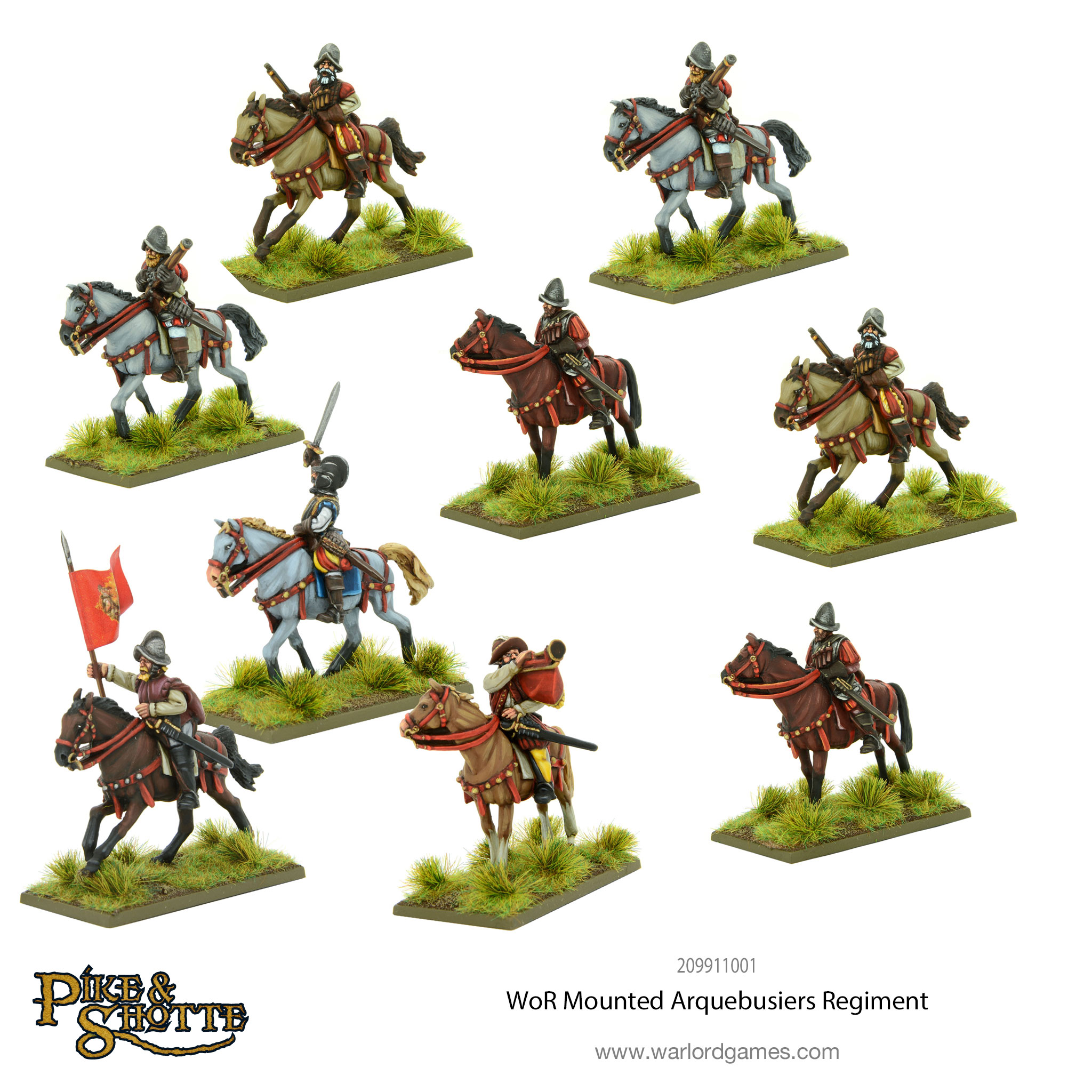 wars of religion mounted arquebusiers regiment