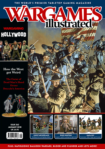 New Wargames Illustrated WI363 January Edition