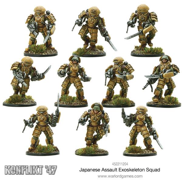 Japanese Exoskelton Squad