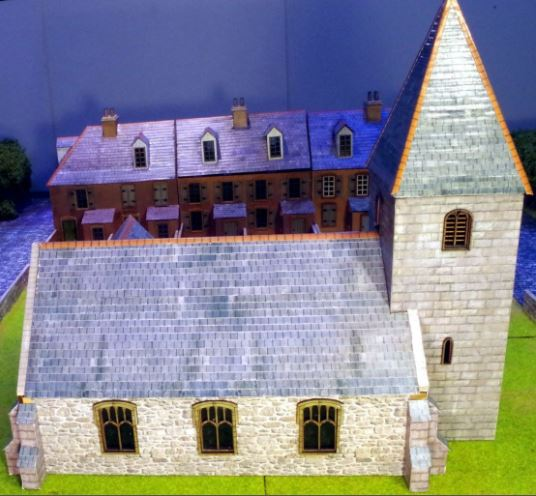 New Wargames Building 3 in 1 Church