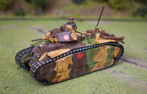 Bolt Action French Tank Painting