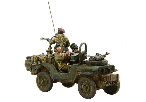 New Bolt Action British SAS Jeep