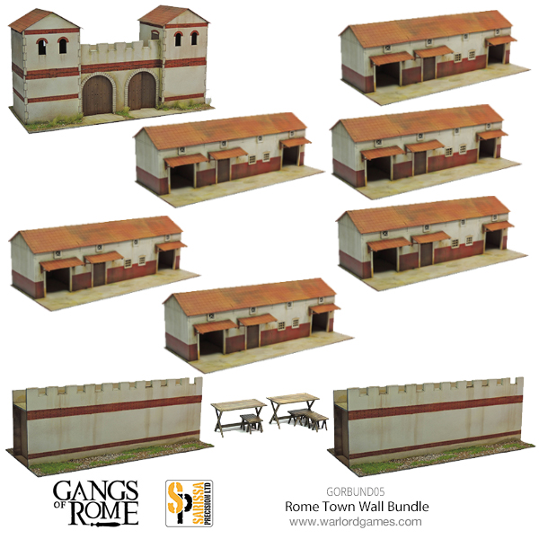 Gangs of Rome Rome Town Wall Bundle