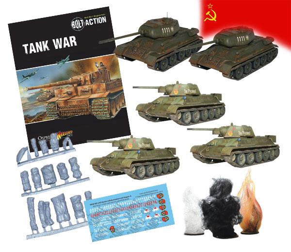 Bundle of Bolt Action Soviet Tanks