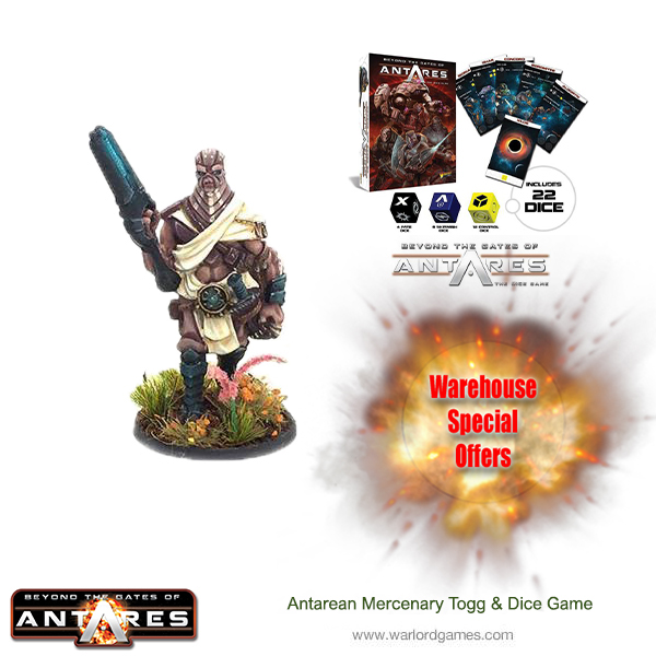 Buy Antarean Mercenary Togg and get the Dice Game for £6.95$9.50