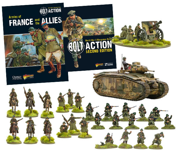 New Bolt Action French Defence Force 1939-40