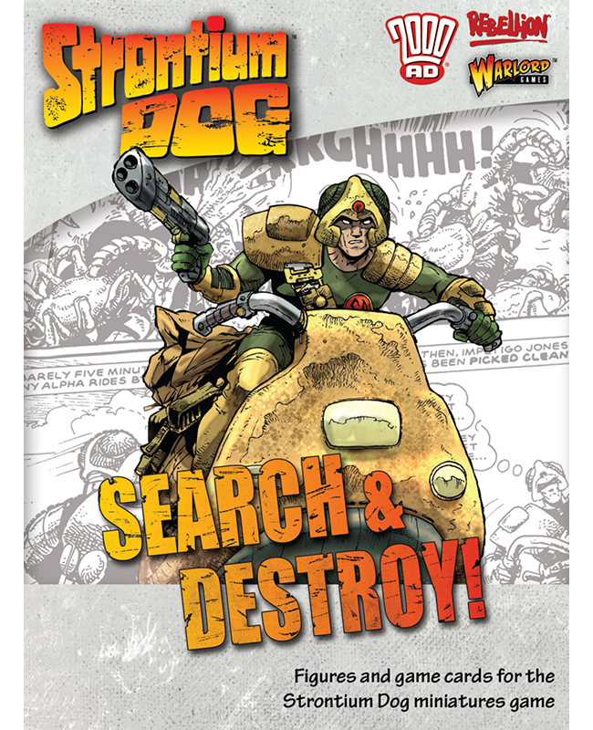 New Strontium Dog Search and Destroy Box