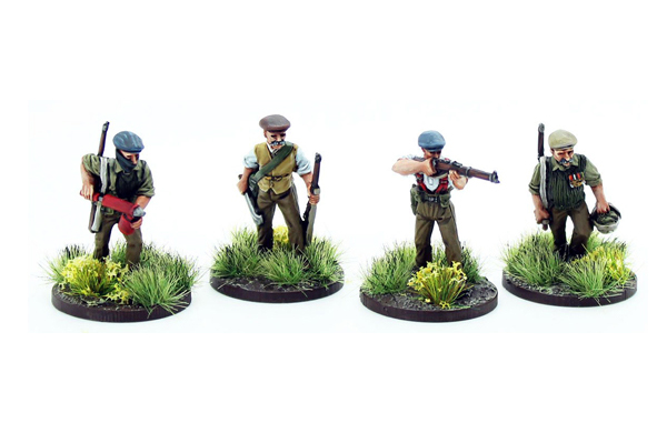 New Bolt Action Opertation Sea Lion Footsore Miniatures Allotment Holders