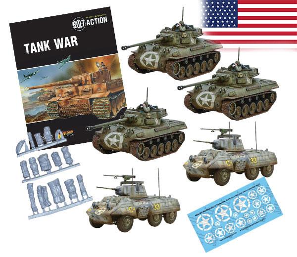 Bundle of Bolt Action US Tanks