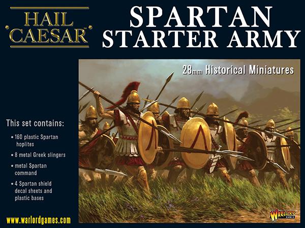 Coming Soon Hail Caesar Spartan Starter Army