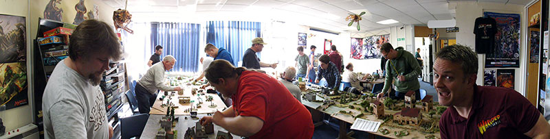 Warlord Games Shrapnel Event Write Up