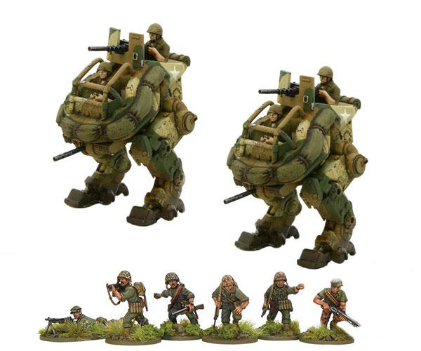 Konflikt '47 USMC Recon Strike Package Bundle