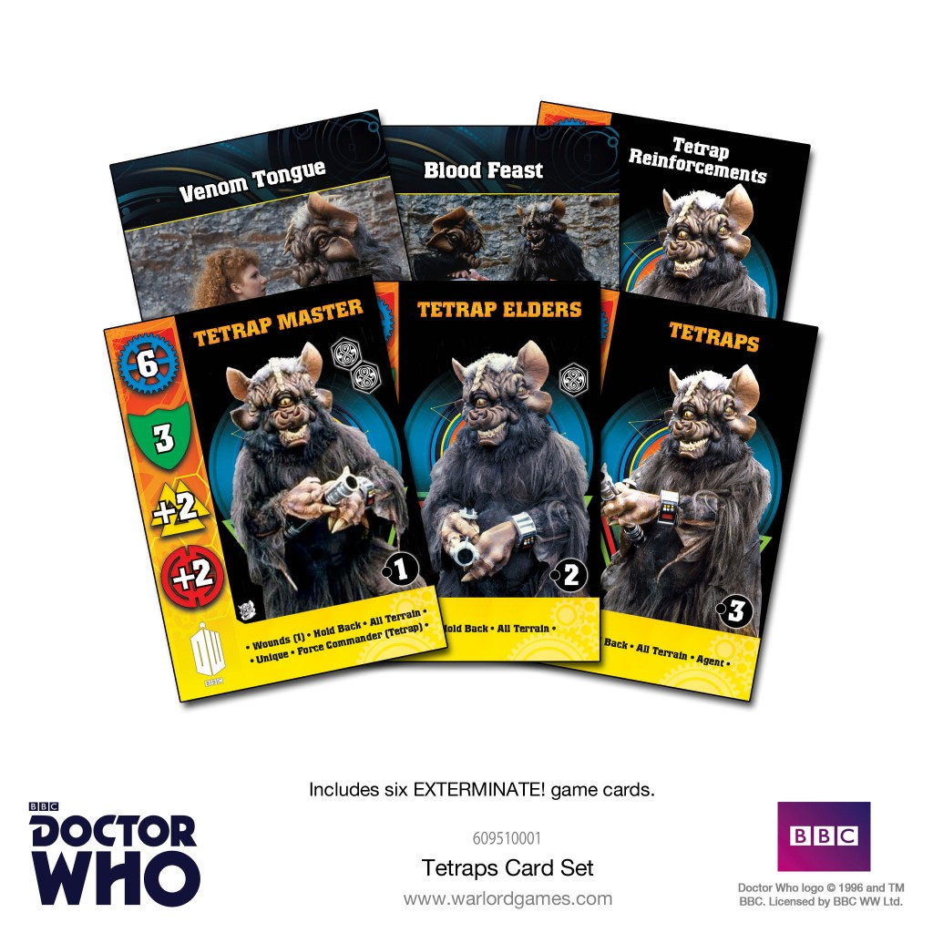 Tetraps Card Set