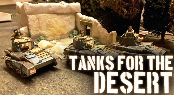 Mark VI Lt Tanks for 1940/1 Desert