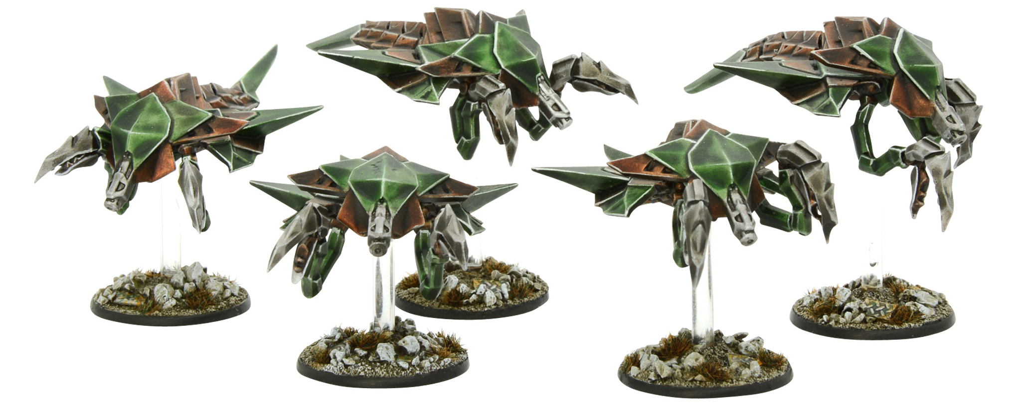New Beyond the Gates of Antares Virai Defender Squad