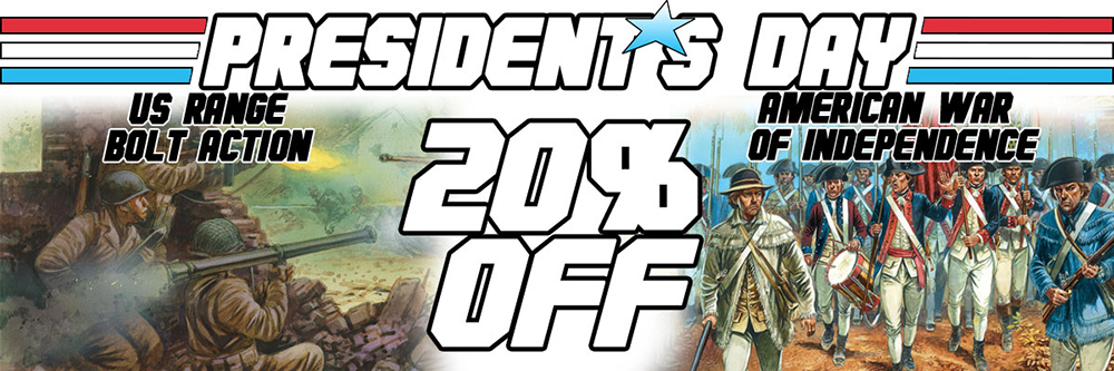 President's Day Offer Continues whilst stocks last: Go To The Collection