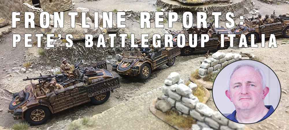 Frontline Report - Battlegroup Italia Article
