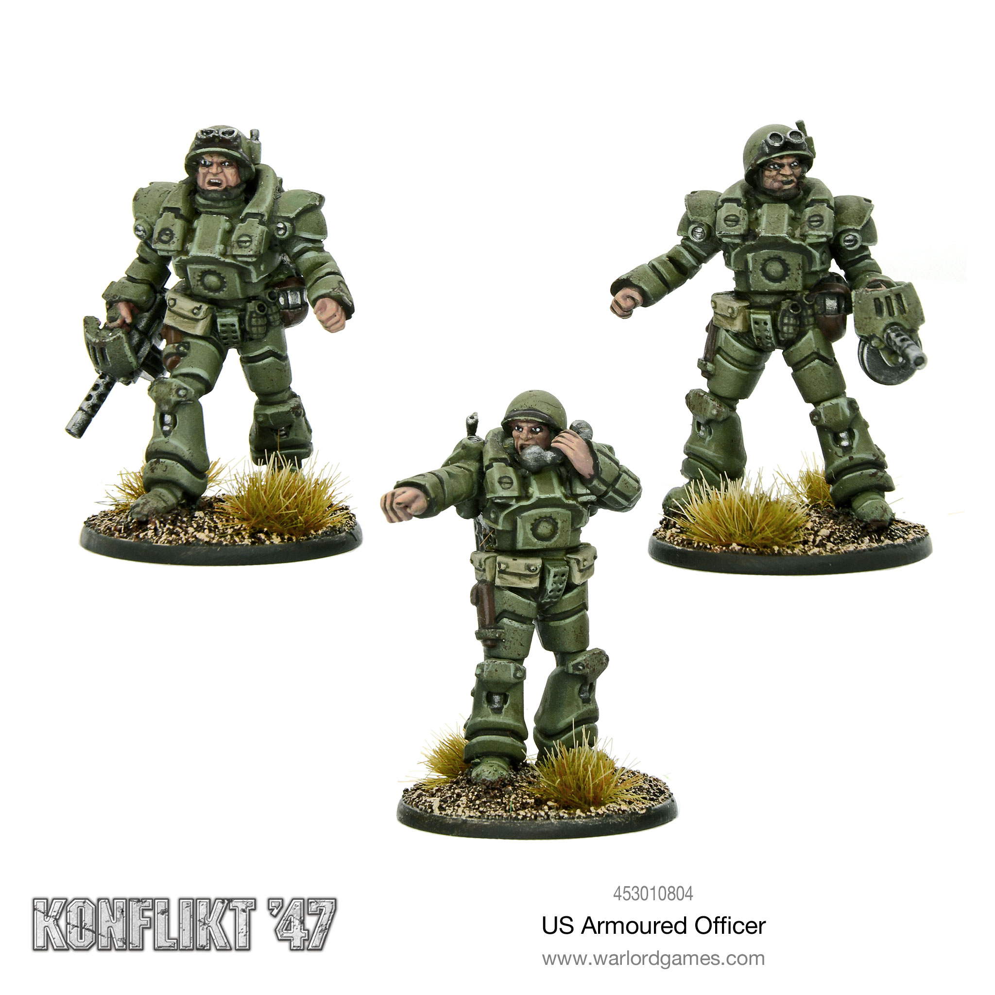 US Armoured Officer for Konflikt'47