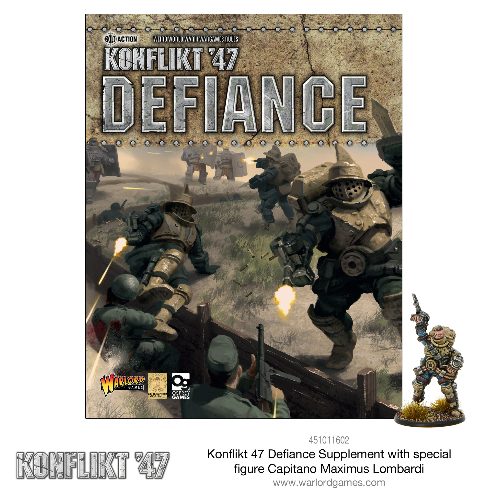 New Konflikt '47 Defiance Supplement