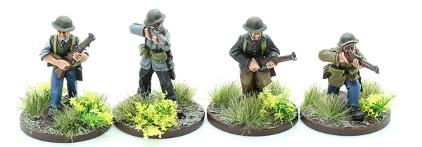 New Bolt Action Opertation Sea Lion Footsore Miniatures Militia