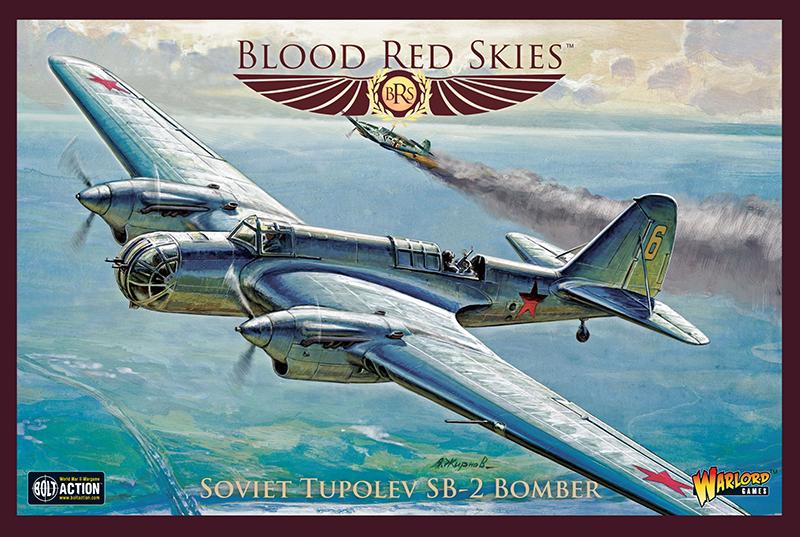 Pre-Order Blood Red Skies Soviet Tupolev SB-2 Bomber