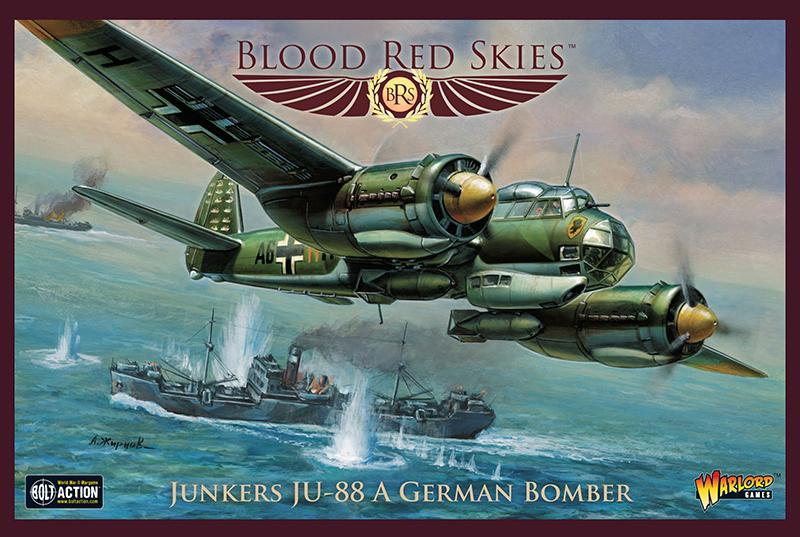 Pre-Order Blood Red Skies German Junkers JU-88 A German Bomber