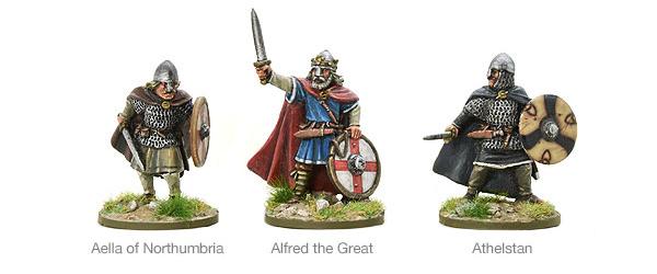 New Hail Caesar SAGA Saxon Kings 9th Century