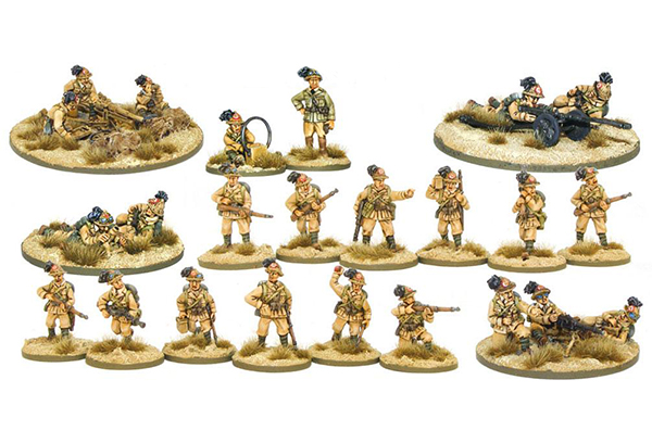Bolt Action Italian Bersaglieri 500 Point Army