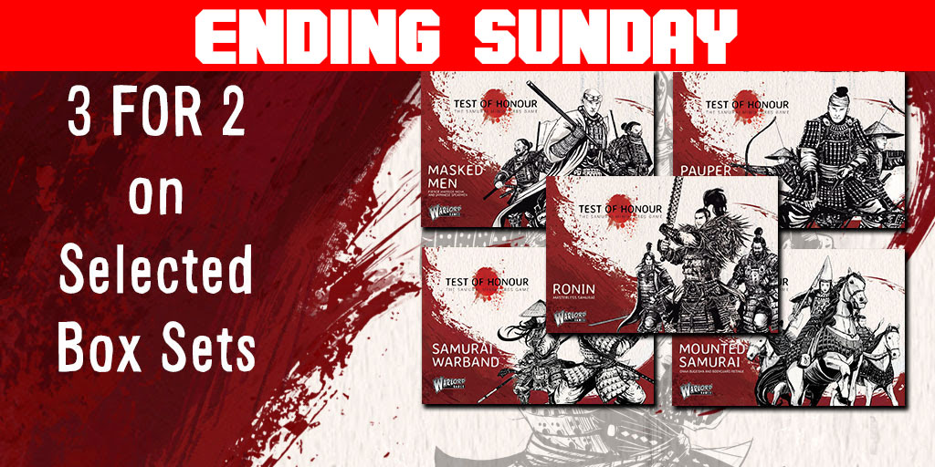 Ending Sunday Test of Honour 3 for 2 on selected Box Sets