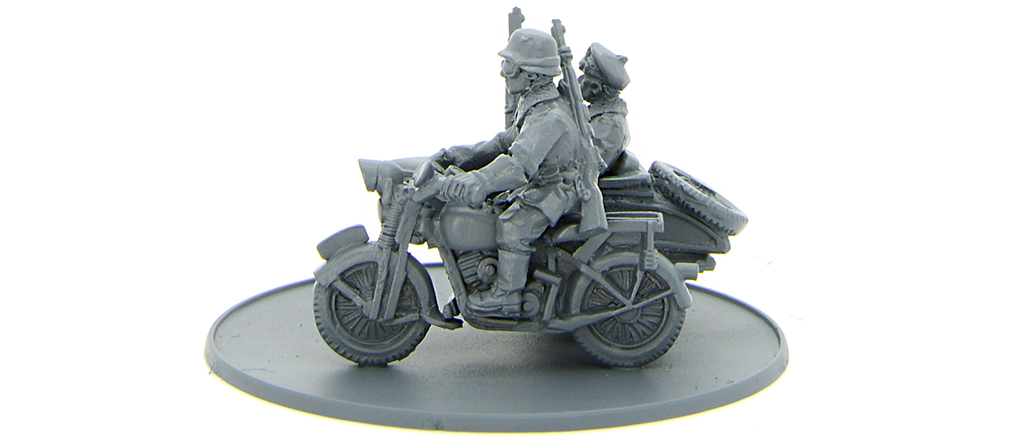 New Bolt Action Polish 10th Motorized Brigade motorcycle combination