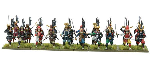 New Pike & Shotte Samurai